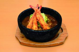 Curry Fried Prawn Rice by Tonkotsu Kazan Ramen Restaurants in Singapore