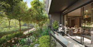 Midtown Modern Condominium Garden Home