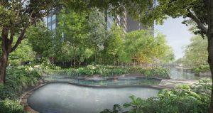 Midtown Modern Condominium Landscape